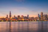 Chicago, Illinois, USA Lakefront Skyline - 208776186