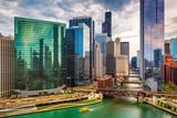Chicago, Illinois, USA Cityscape - 208777776