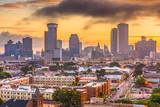 New Orleans, Louisiana, USA CBD Skyline - 208777947