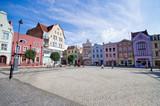 Town square of Grudziadz, Poland