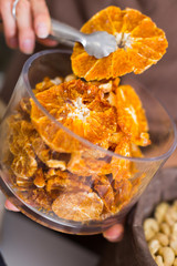 Photo of dried orange