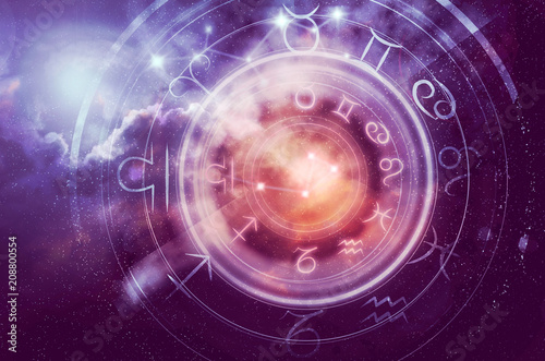 astrology horoscope background © santiago silver