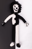 black and white soft toy - 208814574