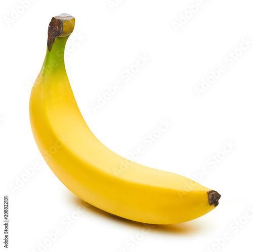 Leinwanddruck Bild Bunch of bananas isolated