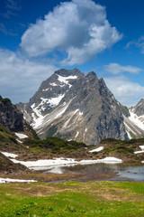 Mountain landscape in austria © heiko