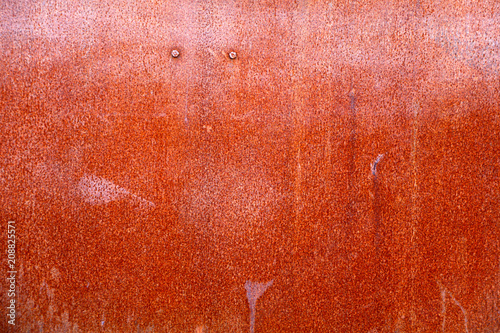 Leinwanddruck Bild Rusted steel background