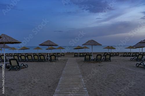 Foto Murales Night Beach View in Belek