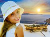 Old boat - Santorini, Greece - 208868962