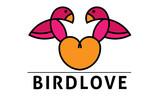Bird Love Heart Logo Vogel Liebe Herz