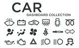 Car Dashboard Icon Collection