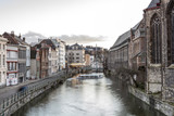 Gent, Belgium at day, Ghent old town - 208885110