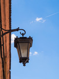 Street lamp in the old city - 208903546