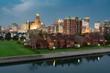 Skyline of Buffalo New York