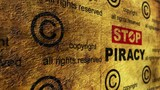 Stop piracy grunge concept - 208927727