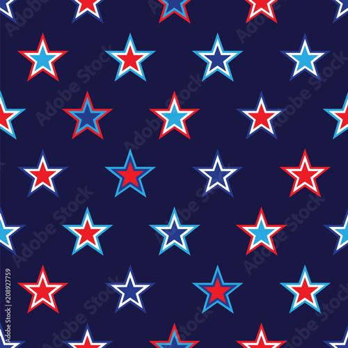 4th of July background - 208927759