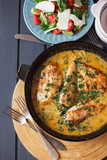 delicious baked chicken - 208932784
