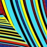 Pop Art Geometric Pattern