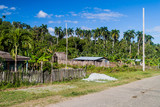 Small village near Baracoa, Cuba