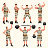strong man set 2 - 208954340