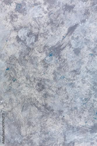 Fotobehang Betonbehang Grey-blue concrete texture.