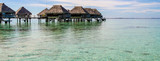 Overwater bungalows, French Polynesia - 208967701