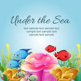 under the sea illustration - 208969516