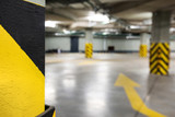 Underground car parking at modern house - 208974146
