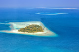 Insel Malediven Urlaub Paradies Meer Embudu Resort Luftbild - 208984500