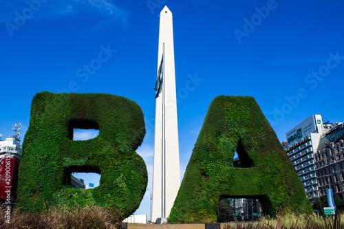 Aluminium Buenos Aires The monolith of Buenos Aires.