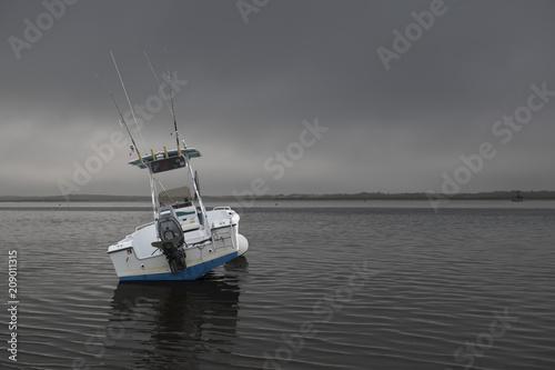 Fototapeta beached boat