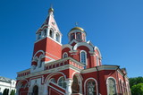 The Church of the Annunciation in Petrovsky Park, Moscow, Russia - 209014334