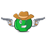 Cowboy brussels character cartoon style - 209014741