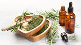 Natural rosemary essential oil - 209022761