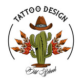 Tattoo design with old school drawings vector illustration graphic - 209022792