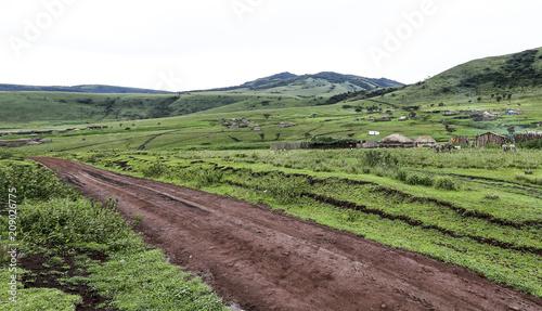 Fotobehang Landschappen Serengeti National Park
