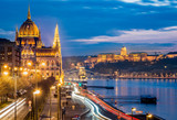 Hungarian Parliament - Buda Castle - Chain Bridge