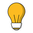 bulb idea creativity innovation image vector illustration