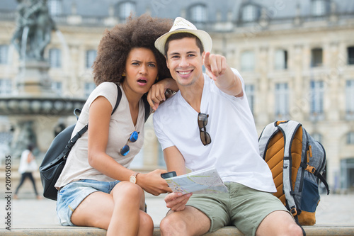 the young urban tourists
