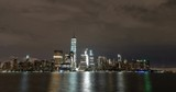 Clouds Passing Over Lower Manhattan, New York City - 209057543