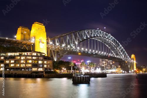 Australien, Sydney, Brücke, Harbour Bridge