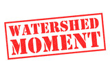 WATERSHED MOMENT Rubber Stamp - 209058560