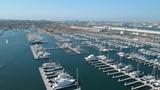 Aerial Cabrillo Marina and Port of Los Angeles - 209061360