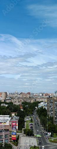 Vertical city panorama © Platon Haritonov