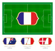 All games by French soccer team in group C.