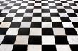 Damier noir et blanc - 209070758