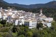Genalguacil white village in Malaga province, Spain - 209073356