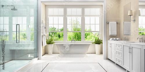 Fototapeta großes Badezimmer