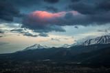 Panorama of Tatra mountains and Zakopane city from Koscielisko, Poland