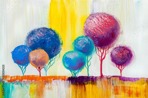 drzewa-malarstwo-olejne-tlo-artystyczne