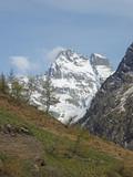 Le Mont Viso à la fin du printemps